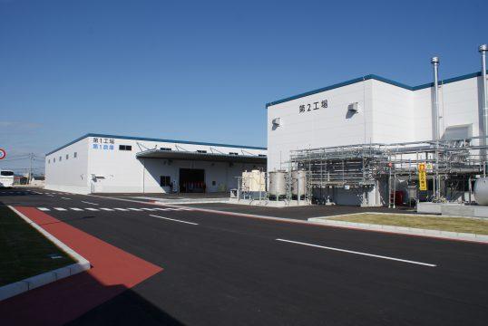 完成した新工場