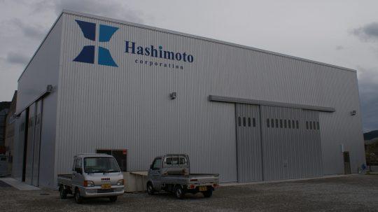 新設の配管工場